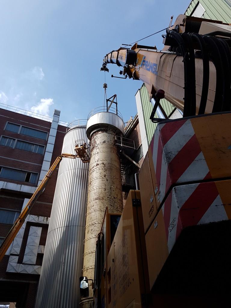 Demontage Bleichturm 07