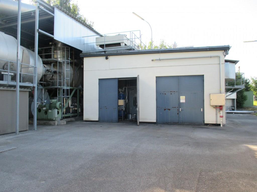 Demontage einer 1,5 MW Gasturbinenanlage 01