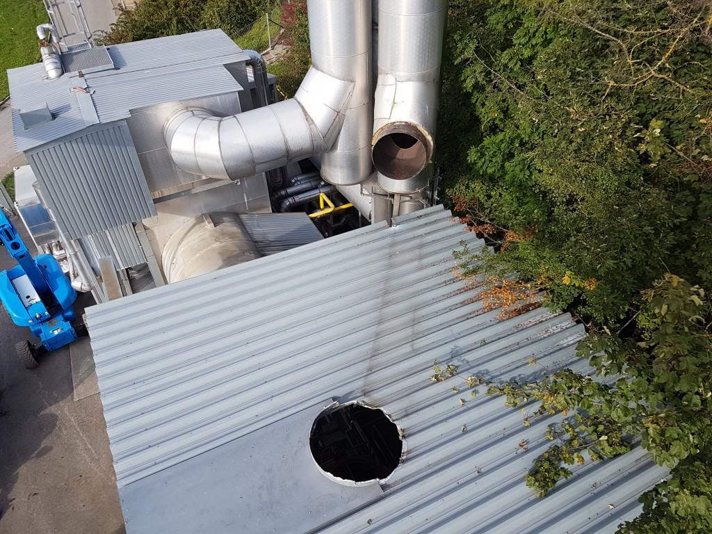 Demontage einer 1,5 MW Gasturbinenanlage 10