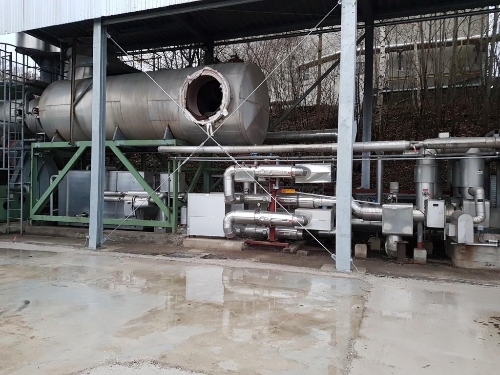 Demontage einer 1,5 MW Gasturbinenanlage 15