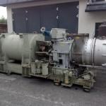 Demontage einer 1,5 MW Gasturbinenanlage 06