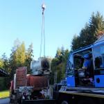 Demontage einer 1,5 MW Gasturbinenanlage 07