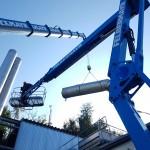 Demontage einer 1,5 MW Gasturbinenanlage 09