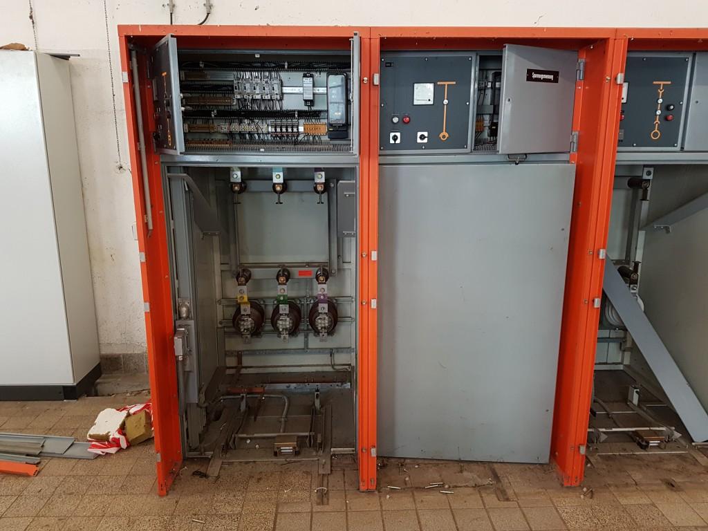 Demontage einer 5kV Schaltanlage inkl. Trafo und Verkabelung 03