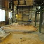 Demontage 130m³ Niro Lagertank 12