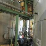 Demontage 130m³ Niro Lagertank 02