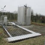 Demontage 500m³ Lagertank 01